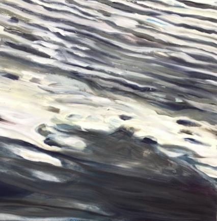 Waterwerk 10, olieverf op doek, 40/40 cm, te koop